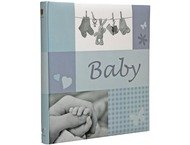Henzo Jessy blue Baby 28,5x30 60 Pages Book bound