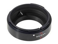Novoflex Adapter Canon FD lens on Samsung NX Cameras