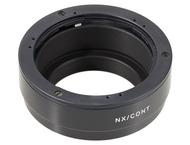 Novoflex Adapter Contax/Yashica lens on Samsung NX Cameras