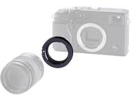 Novoflex adapter Leica M lenses to Fuji X PRO camera