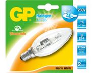 GP Battery GP Lighting Halogen Candle 28W/230V E-14 warm whi