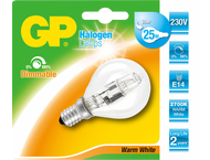 GP Battery GP Lighting Halogen Mini Globe 18W/230V E-14 warm