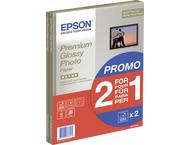 Epson Premium Glossy Photo Paper A 4, 2x 15 Sh., 255 g S 042