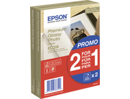 Epson 2x 40 Epson Premium Glossy Photo Paper 10x15 cm, 255 g