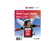 AgfaPhoto SDHC Card 32GB Class 10 / UHS I