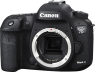 Canon EOS 7D Mark II Body - Zwart