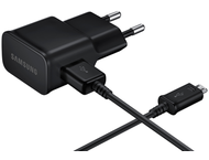Samsung universele micro USB adapter + reislader - zwart