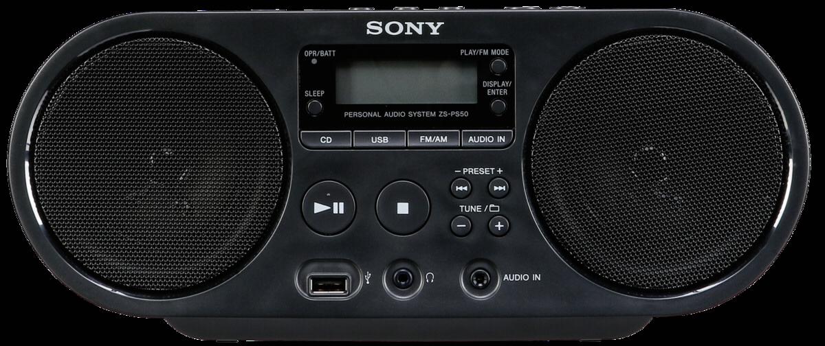 cc1bd0cf4e05dc Sony Boombox ZS-PS50 Noir   Art   Craft