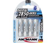 Ansmann 1x4 Ansmann NiMH rech. battery 2850 Mignon AA 2650 m