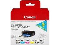 Canon PGI-550/CLI-551PGBK/C/M/Y/BK/GY MP/VALPK