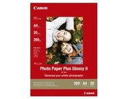 Canon PP-201 PHOTO PAPER PLUS II GLOSSY A4 20S