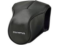 Olympus lederen tas CS-46FBC zwart voor E-M5 Mark II