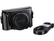 Sony LCJHWAB Lederen tas - voor WX500 - HX90