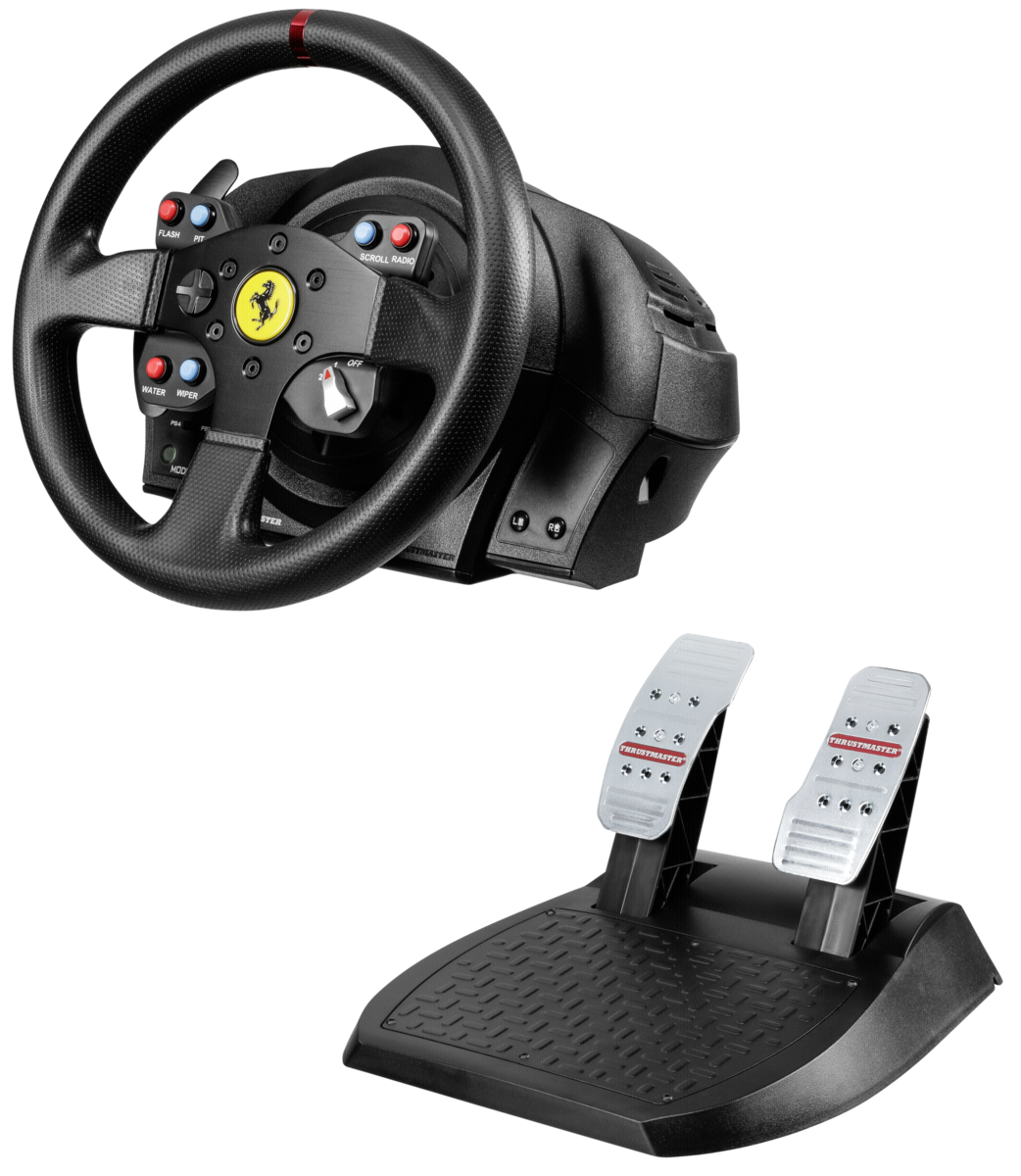 thrustmaster t300 ferrari gte wheel art craft. Black Bedroom Furniture Sets. Home Design Ideas
