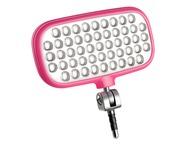 Metz Mecalight LED-72 Pink, Smart Phone Video Light