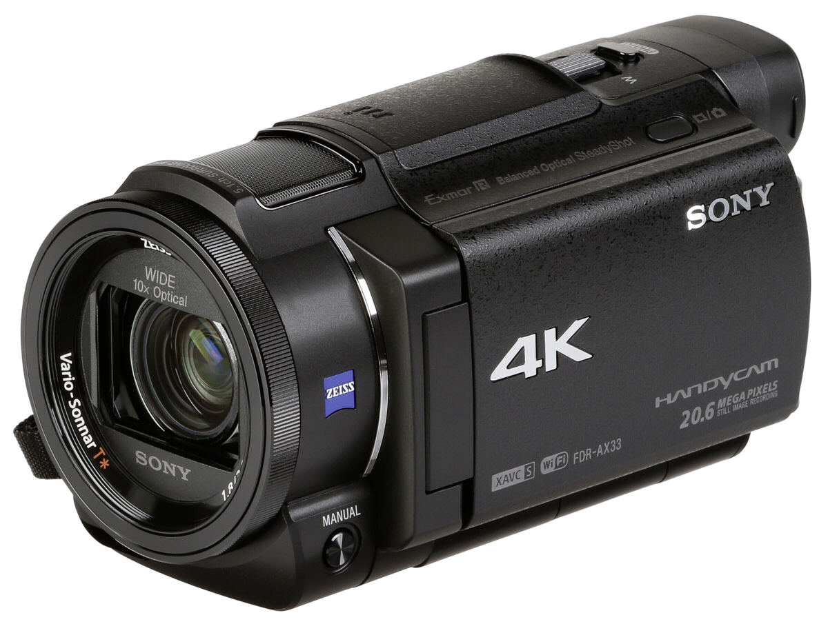 sony fdr ax33 4k cam scope art craft. Black Bedroom Furniture Sets. Home Design Ideas