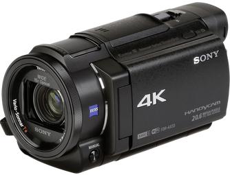 Sony FDR-AX33 4K camcorder