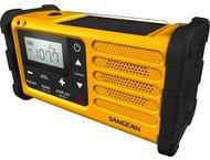 Sangean MMR-88, dynamo radio FM/AM, solar, geel