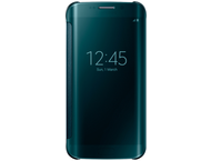 Samsung clear view cover - groen - Samsung G925 Galaxy S6 Ed
