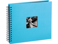 Hama Spiraalalbum Fine Art 28x24/50 turquoise