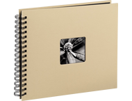 Hama Spiraalalbum Fine art 28x24/50 taupe