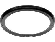 digiCap Set Up Adapter 77 mm Filter aan 72 mm Objectief