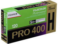 1x5 Fujifilm Pro 400 H 120 nieuw