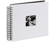 Hama Fine Art spiraal 28x24 50 zwarte paginas 2108