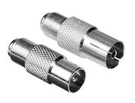 Hama SAT-Adapter-Set V-Koppl.- Coax-St./V-Kuppl.-Coax-Kuppl.