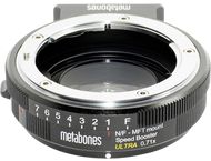 Metabones Speed Booster ULTRA Nikon G aan MFT