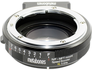 Metabones Speed Booster XL Nikon G objectief aan MFT camera