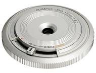 Olympus BCL-1580 Bouchon boîtier objectif argent