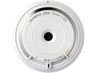 Olympus BCL-1580 Bouchon boîtier objectif blanc