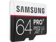 Samsung microSDXC Class 10 64GB Pro+ met Adapter