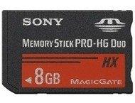 Sony Memory Stick Pro HG Duo HX 8GB 50MB/s