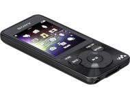 Sony draagbare media speler NWZ-E584B zwart 8GB