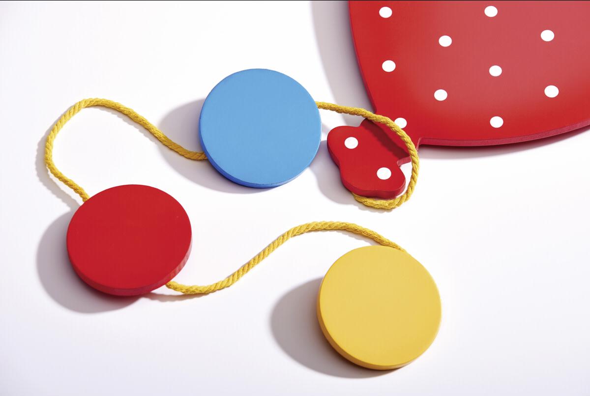 Walther Baby Fotokoord Ballon Hout Met Koordhaken Md160b Art Craft