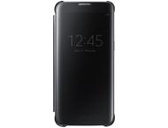 Samsung clear view cover - zwart - Samsung Galaxy S7 edge
