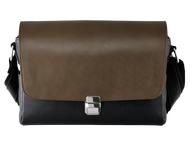 Olympus Leather bag for PEN-F zwart/bruin CBG-11