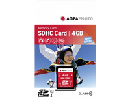 AgfaPhoto SDHC kaart 4GB High Speed Class 10 UHS I