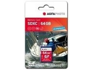 AgfaPhoto SDXC kaart 64GB High Speed Class 10 UHS I