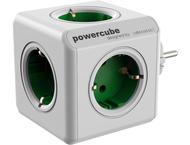 allocacoc PowerCube Original groen Type F voor Extended Cube