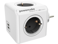 allocacoc PowerCube Original USB grijs Type F voor Extended