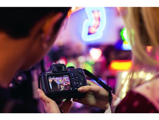 Canon EOS 1300D Body - Zwart