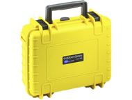 BW Outdoor Case Type 1000/Y geel met DJI Osmo X3 Inlay