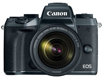 Canon EOS M5 Body + 18-150mm - Zwart