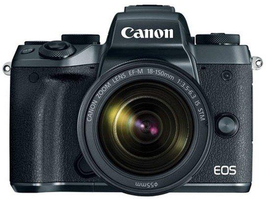 Canon EOS M5 Boîtier + 18-150mm - Noir