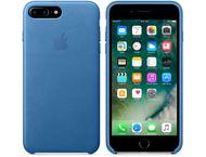 Apple iPhone 7 Plus Leather Case Sea Blue  OP=OP