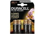 Duracell Plus Power AA batterijen 4 pack