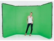 Lastolite Panoramic Background Cover 4m Chromakey Green